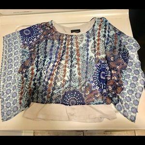 Amy's Closet Shirts & Tops - Girls paisley floral blouse